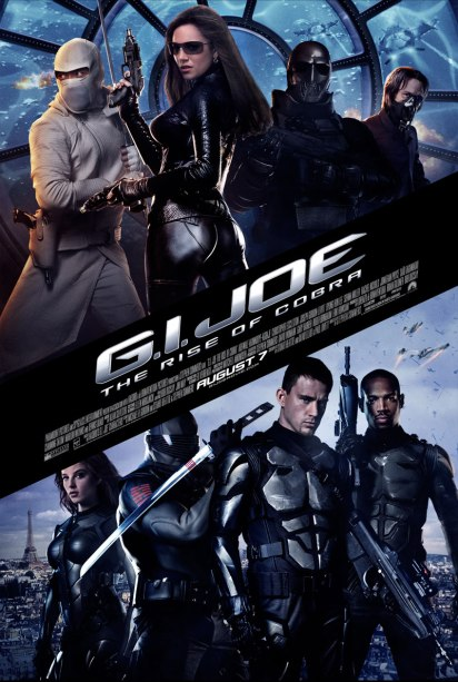 GI Joe Rise of the Cobra 01 poster (WTF Watch the Film)