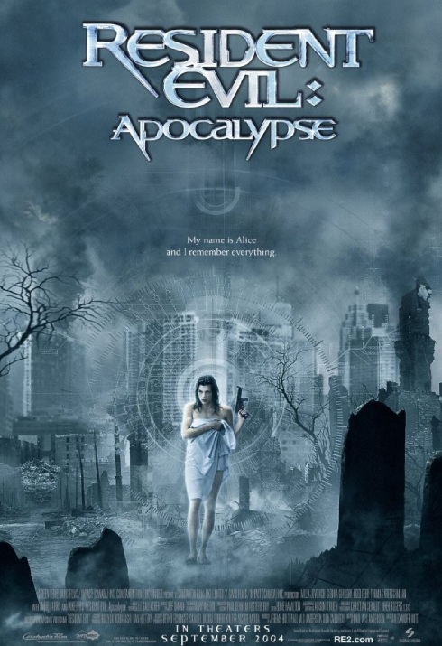 Resident Evil Apocalypse 01 Poster (Saint Pauly - WTF Watch the Film)