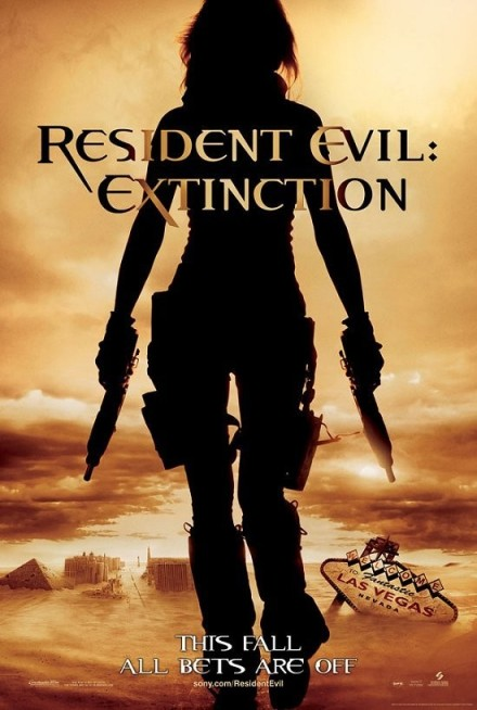 Resident Evil Extinction 01 poster (WTF Watch the Film Saint Pauly)