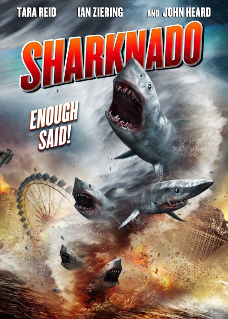 Sharknado 01 poster (WTF Watch the Film Saint Pauly)