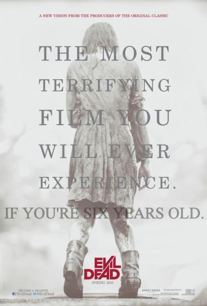 Evil Dead 01 poster (WTF Watch the Film Saint Pauly)