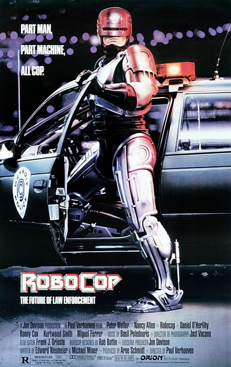 RoboCop 01 poster (Saint Pauly WTF)