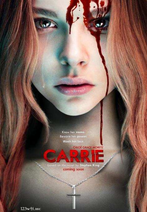 Carrie 01 poster (Saint Pauly WTF)