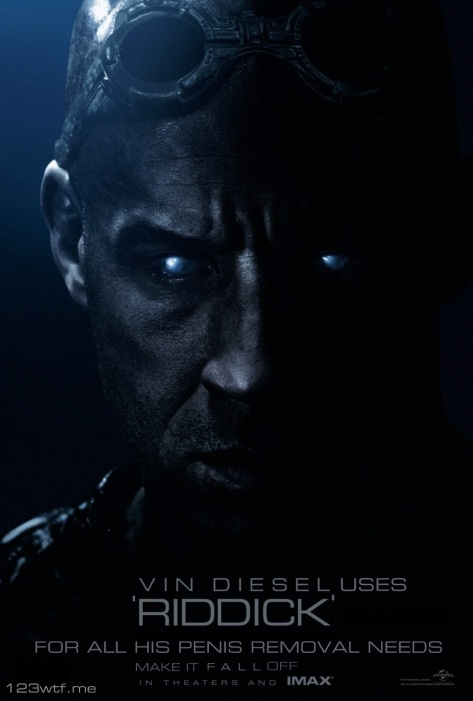 Riddick 01 poster (WTF Saint Pauly)