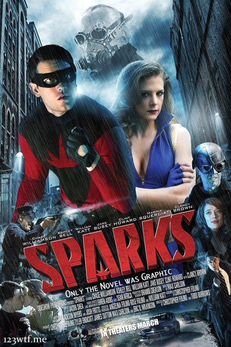 Sparks 01 poster (Saint Pauly WTF)