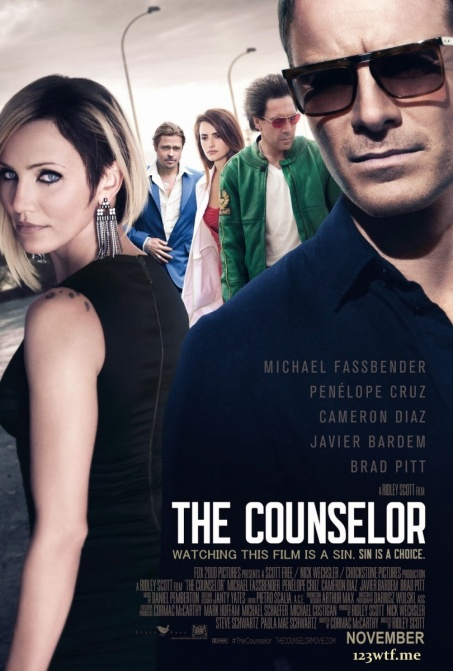 The Counselor 01 poster (WTF Saint Pauly)