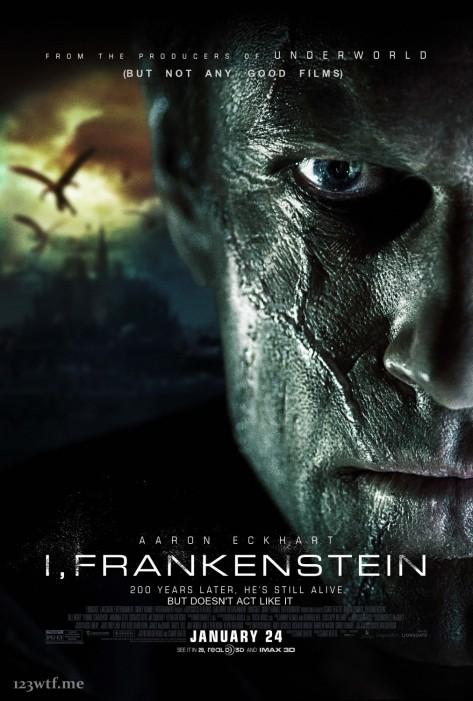 I, Frankenstein 01 poster (WTF Saint Paul)