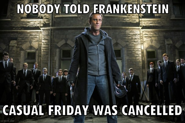 I, Frankenstein 21 (WTF Saint Paul)