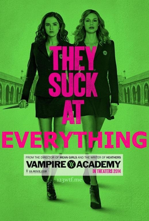 Vampire Academy 01 poster (WTF Saint Pauly)