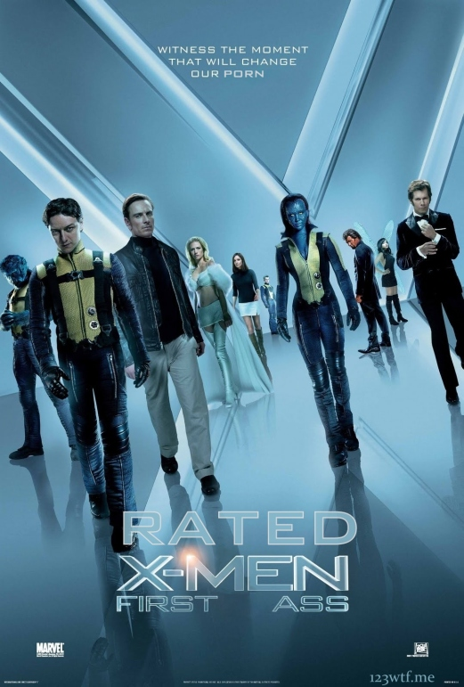 X-Men First Class 01 poster (Saint Pauly WTF)