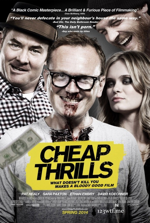 Cheap Thrills 01 poster (WTF Saint Pauly)