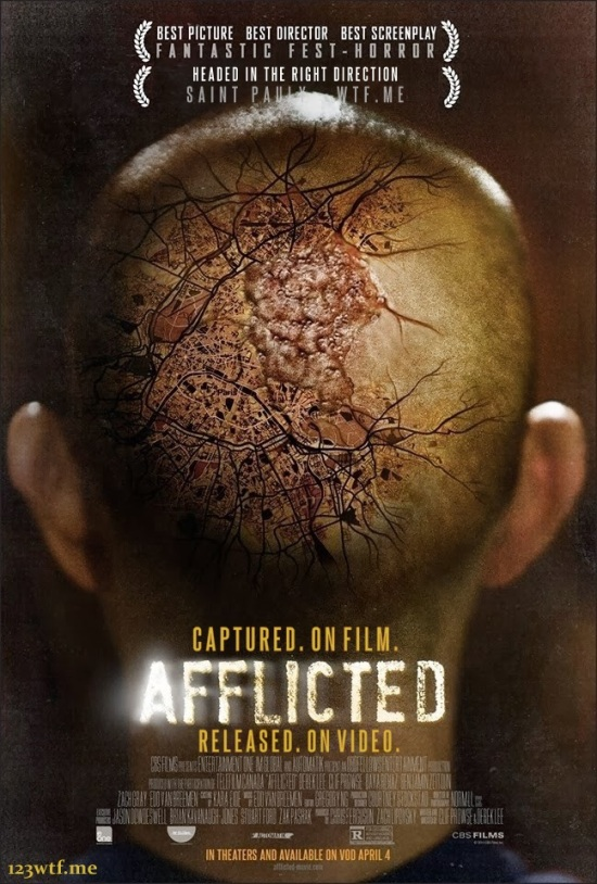 Afflicted 01 poster (WTF Saint Pauly)