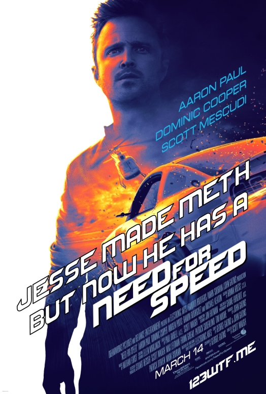 Need for Speed 01 poster (WTF Saint Pauly )