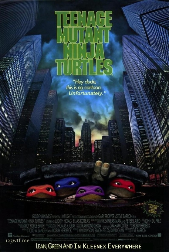Teenage Mutant Ninja Turtles 01 poster (WTF Saint Pauly)