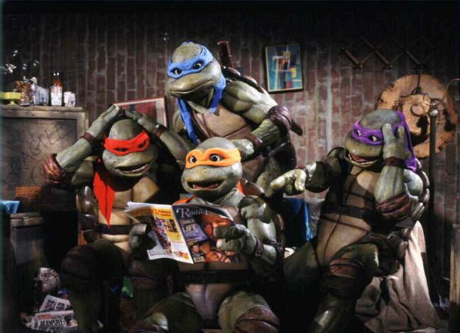 Teenage Mutant Ninja Turtles 16 (WTF Saint Pauly)