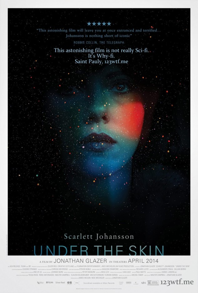 Under the Skin 01 poster (WTF Saint Pauly)