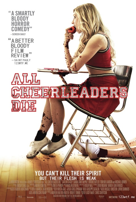 All Cheerleaders Die 01 poster (WTF Saint Pauly)