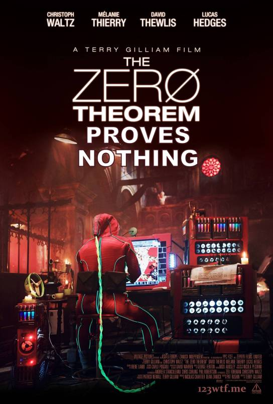 The Zero Theorem 01 poster (Saint Pauly WTF Watch the Film)