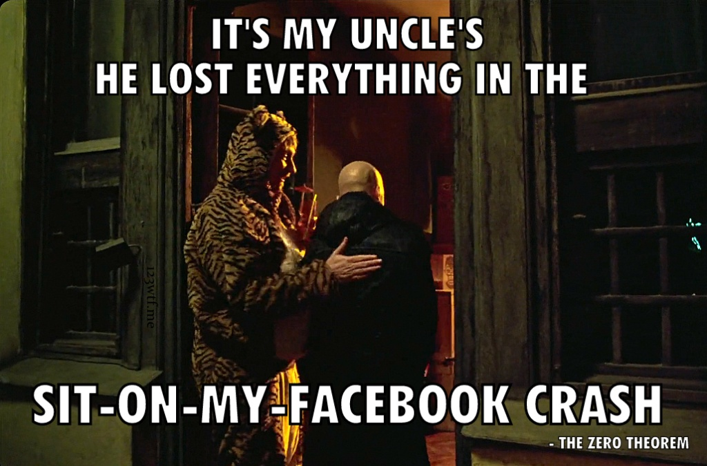 The Zero Theorem 32 Did Say Facebook (Saint Pauly WTF Watch the Film)