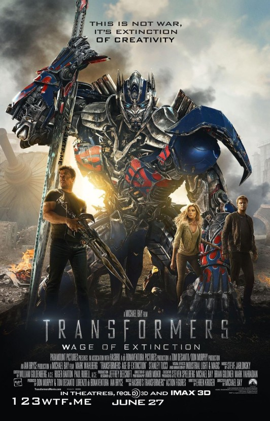 Transformers Age of Extinction 01 poster (WTF Watch the Film Saint Pauly)