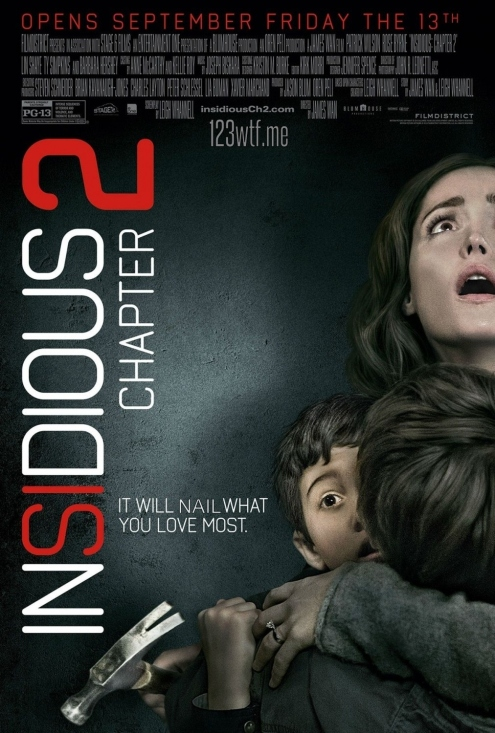 Insidious Chapter 2 01 poster (WTF Watch the Film Saint Pauly)