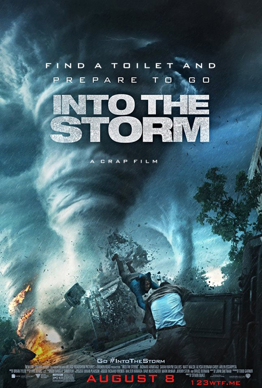 Into the Storm 27 Poster (WTF Watch the Film Saint Pauly)