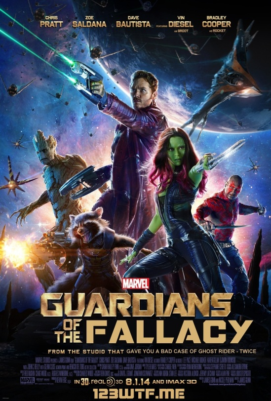 Guardians of the Galaxy 01 poster (WTF Watch the Film Saint Pauly)