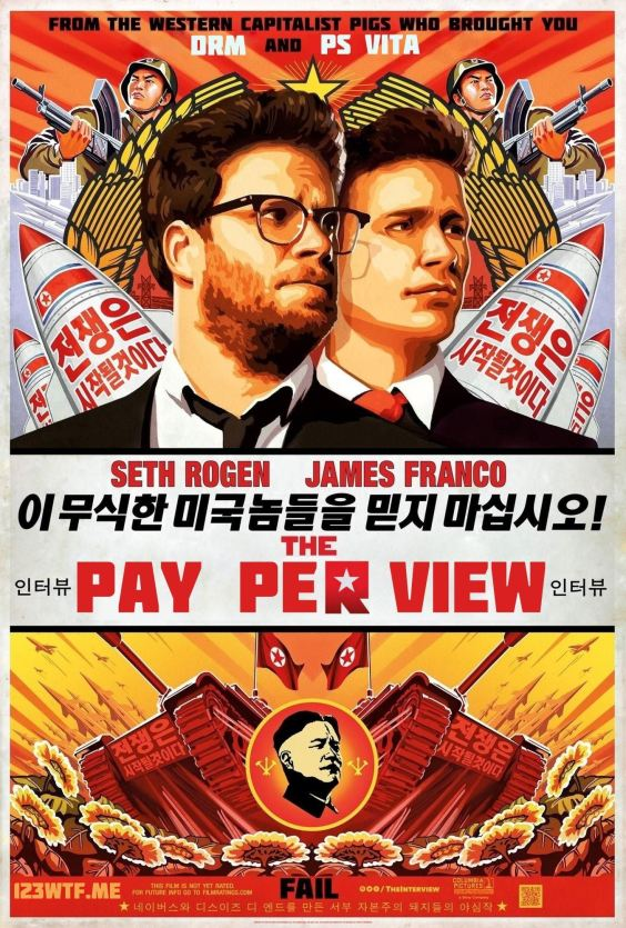 The Interview 01 poster (Saint Pauly WTF Watch the Film)