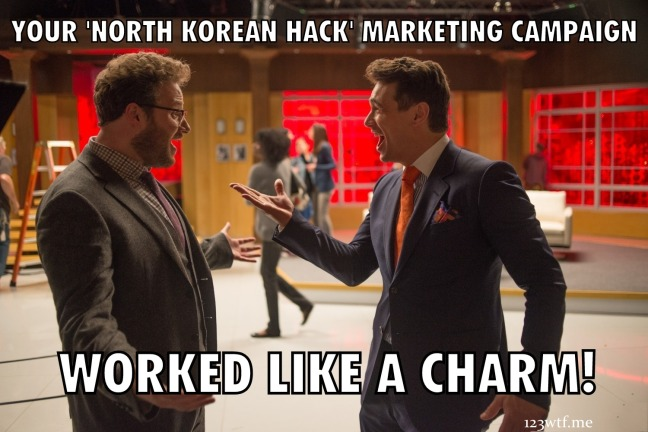 The Interview 21 meme (Saint Pauly WTF Watch the Film)