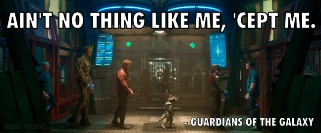 Guardians of the Galaxy 16 WTF did they say 'cept me (WTF Watch the Film Saint Pauly)