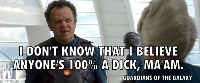 Guardians of the Galaxy 35 did they say dick (WTF Watch the Film Saint Pauly)