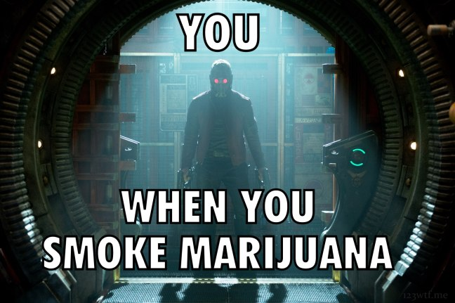 Guardians of the Galaxy 69 meme marijuana (WTF Watch the Film Saint Pauly)