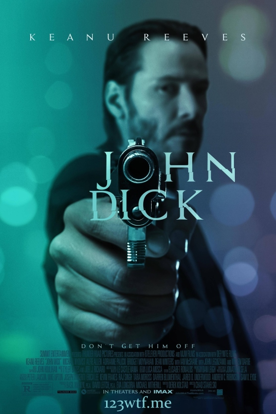 John Wick 01 Poster (WTF Watch the Film Saint Pauly)