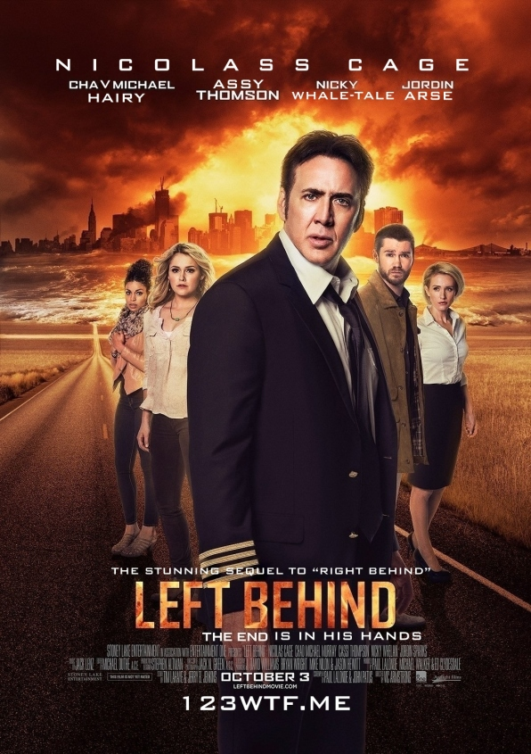 Left Behind 01 poster (WTF Watch the Film Saint Pauly