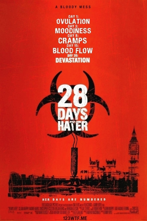 28 Days Later 01 poster (WTF Watch the Film Saint Pauly)