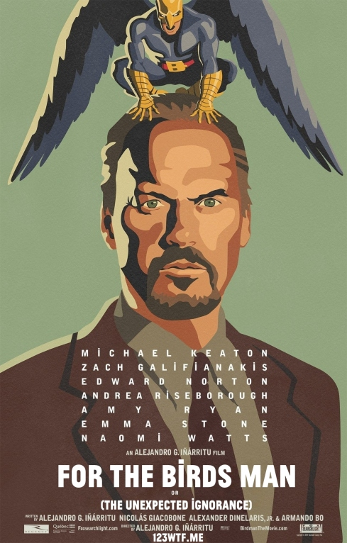 Birdman 01 poster (Watch the Film WTF Saint Pauly)