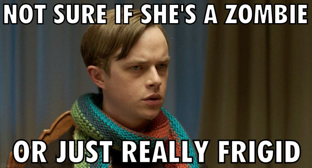 Life After Beth 25 meme Fry (Watch the Film WTF Saint Pauly)