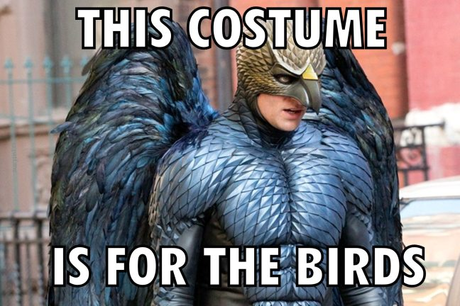 Birdman 42 meme bird (Watch the Film WTF Saint Pauly)