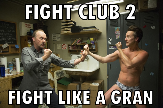 Birdman 43 Fight Club (Watch the Film WTF Saint Pauly)