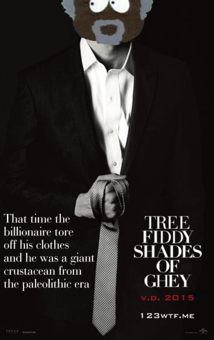 Fifty Shades of Grey 01 poster (WTF Watch the Film Saint Pauly)