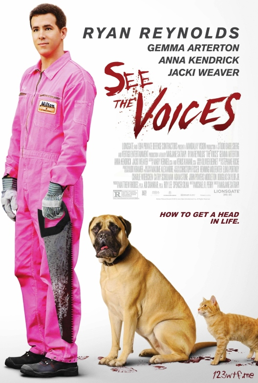 The Voices 01 poster (Watch The Film WTF Saint Pauly)