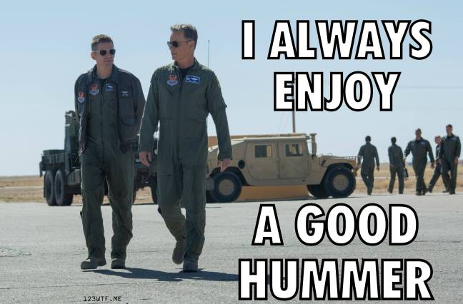 Good Kill 30 meme hummer (WTF Watch The Film Saint Pauly)