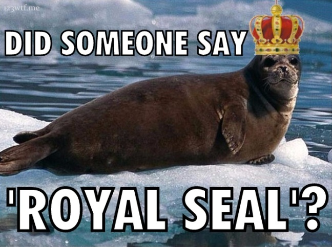 Outcast 04 seal meme (WTF Watch The Film Saint Pauly)