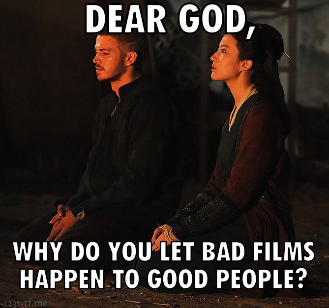 Outcast 30 meme dear god (WTF Watch The Film Saint Pauly)