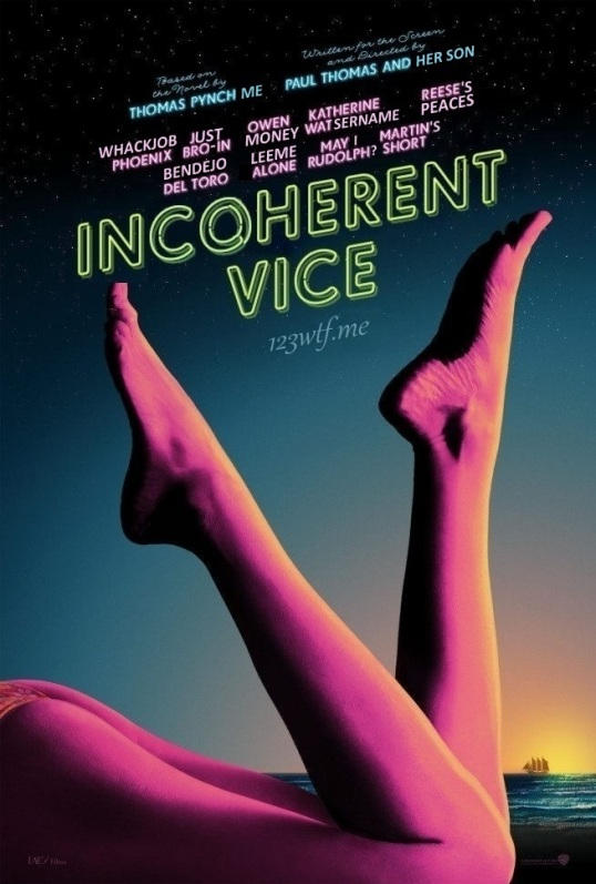 Inherent Vice 02 poster (WTF Watch The Film Saint Pauly)
