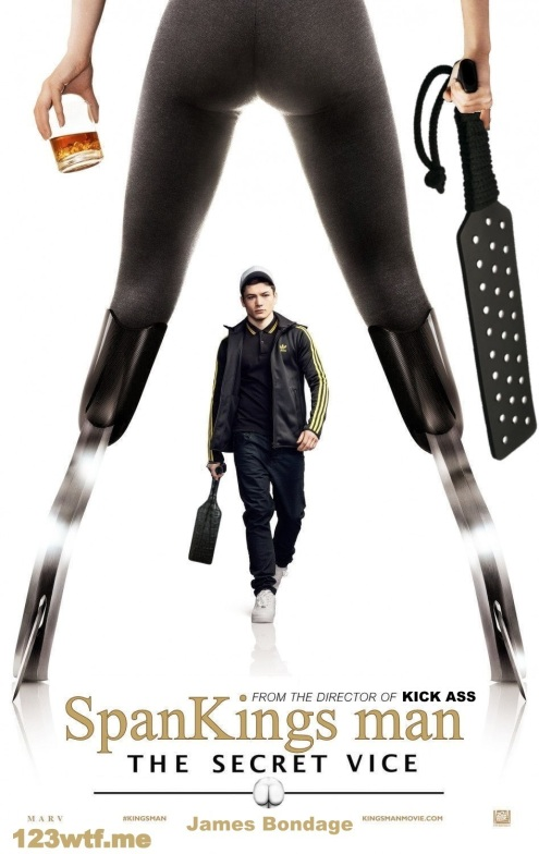 Kingsman 01 poster (WTF Watch The Film Saint Pauly)-001