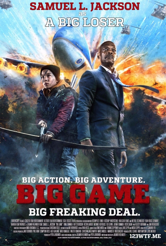 Big Game 20 poster 02 (WTF Watch The Film Saint Pauly)