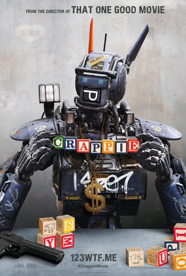 Chappie 02 poster (WTF Watch The Film Saint Pauly)