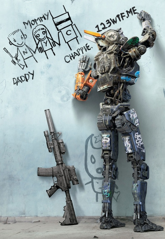 Chappie 34 poster (WTF Watch The Film Saint Pauly)