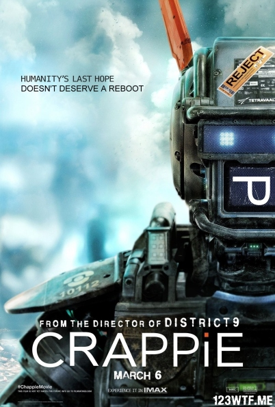 Chappie 35 poster (WTF Watch The Film Saint Pauly)